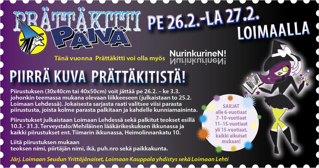 PRÄTTÄKITTIPÄIVÄT 26.-27.2.2021 Loimaalla
